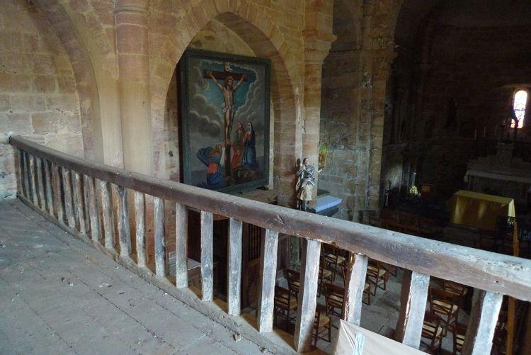 Eglise Saint-Pierre à Fourmagnac dans le Lot