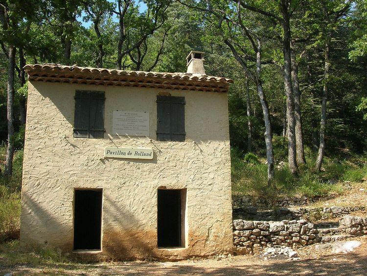 Pavillon de Rolland à Bédoin : projet de restauration