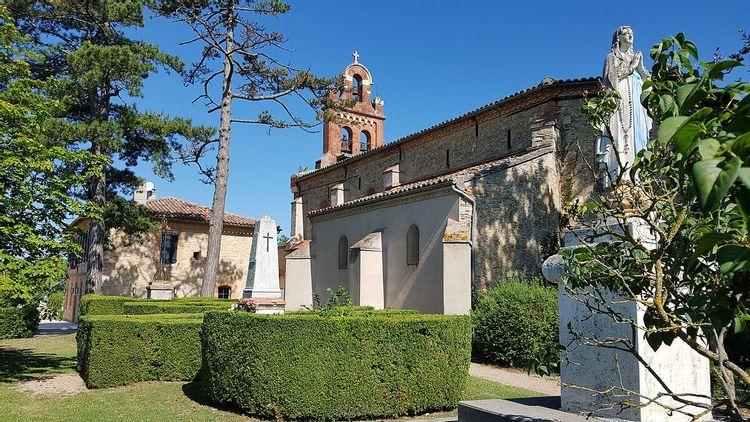 Eglise Notre-Dame de l'Assomption à Lacougotte-Cadoul