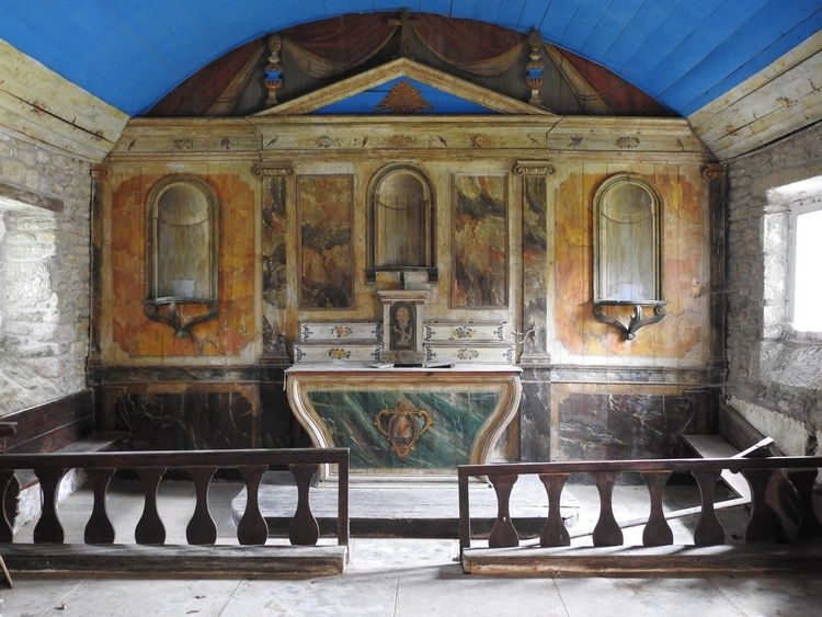 Retable de la Chapelle Saint-Gonvel à Landunvez