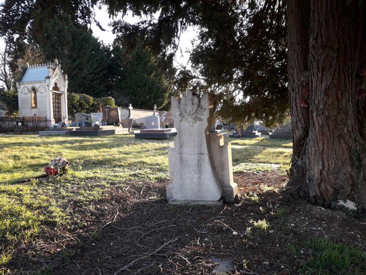 Stèle commémorative à Essey-et-Maizerais en Meurthe-et-Moselle