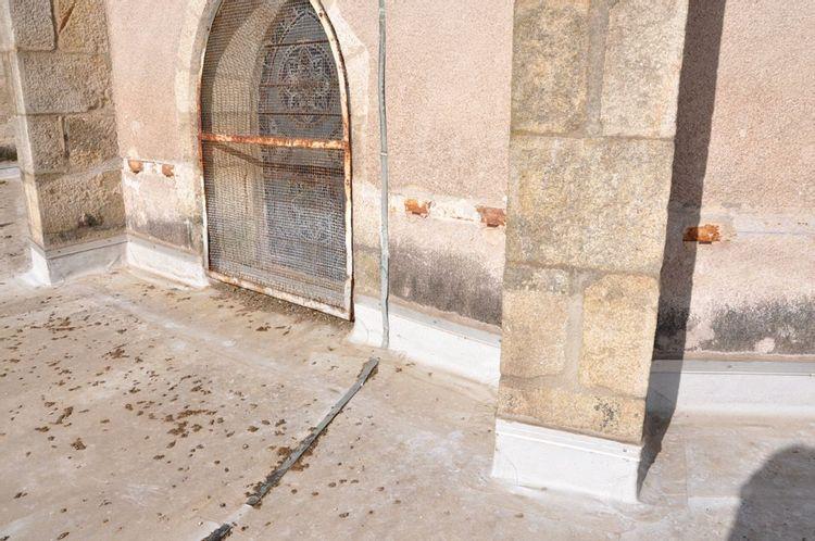 Eglise Saint-Jean d'Ambert - Terrasse du déambulatoire