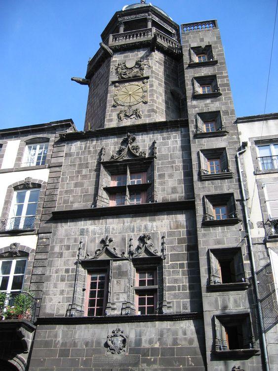 Tour de l'horloge de Riom