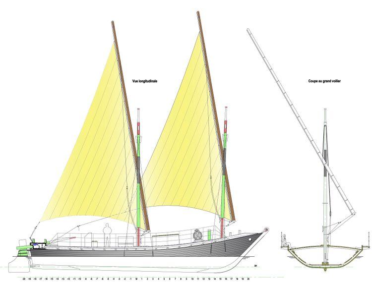 Barque Espérance III à Annecy en Haute-Savoie
