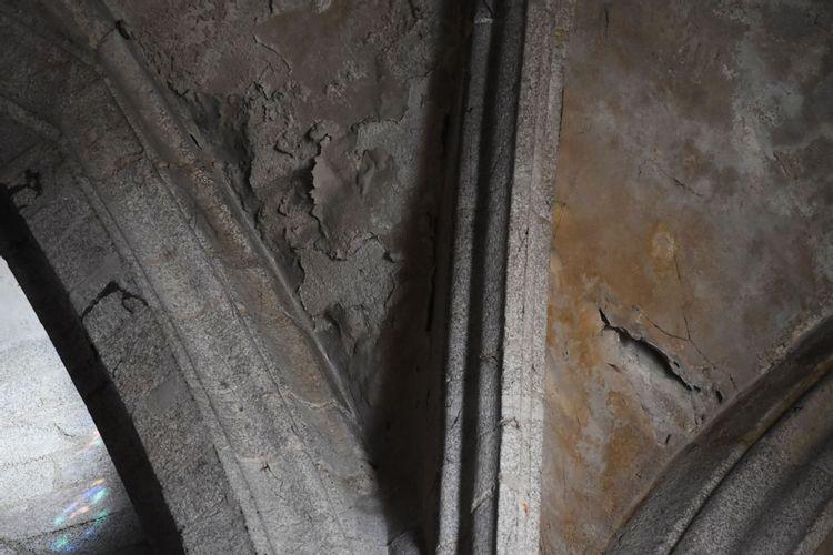 Eglise Saint-Jean d'Ambert - Voûte du déambulatoire