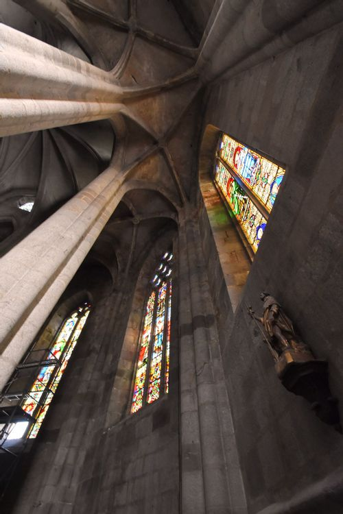 Eglise Saint-Jean d'Ambert - Voûtes du déambulatoire