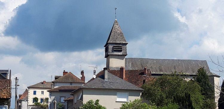 Clocher de l'église communale de Saint-Paul