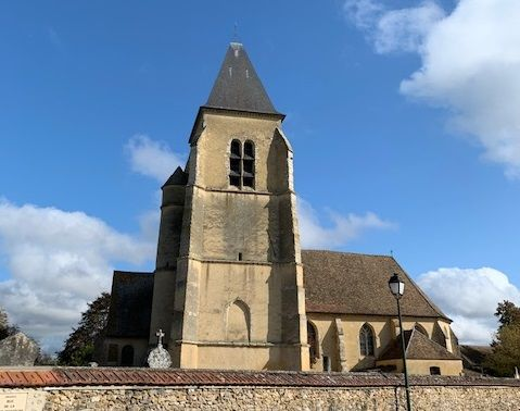 clocher de l'église saint-pierre-aux-liens d'orgerus