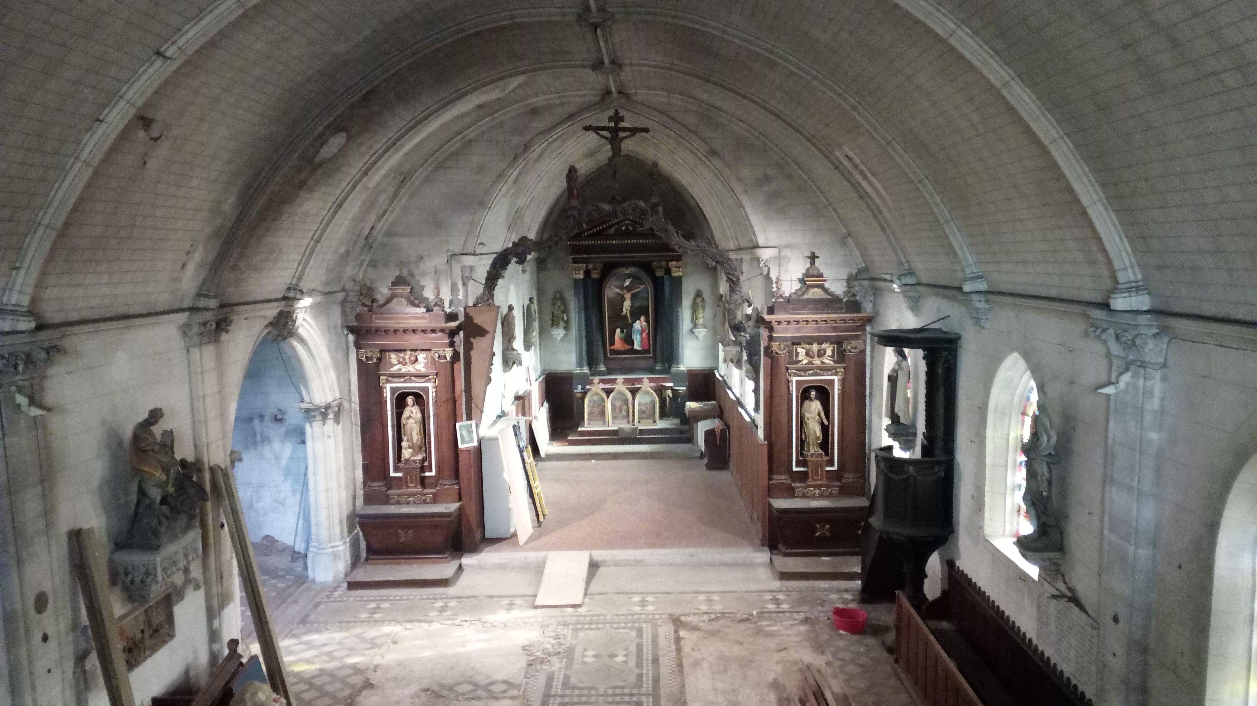 L'église Saint-Cyr de Vaudreuil (Carré-Saint-Cyr)
