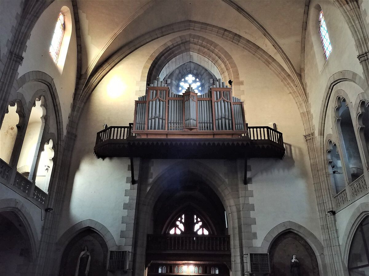 ORGUE DE L'EGLISE DE SAINT AFFRIQUE