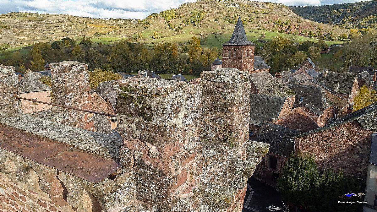 Tour de Clairvaux dans l'Aveyron