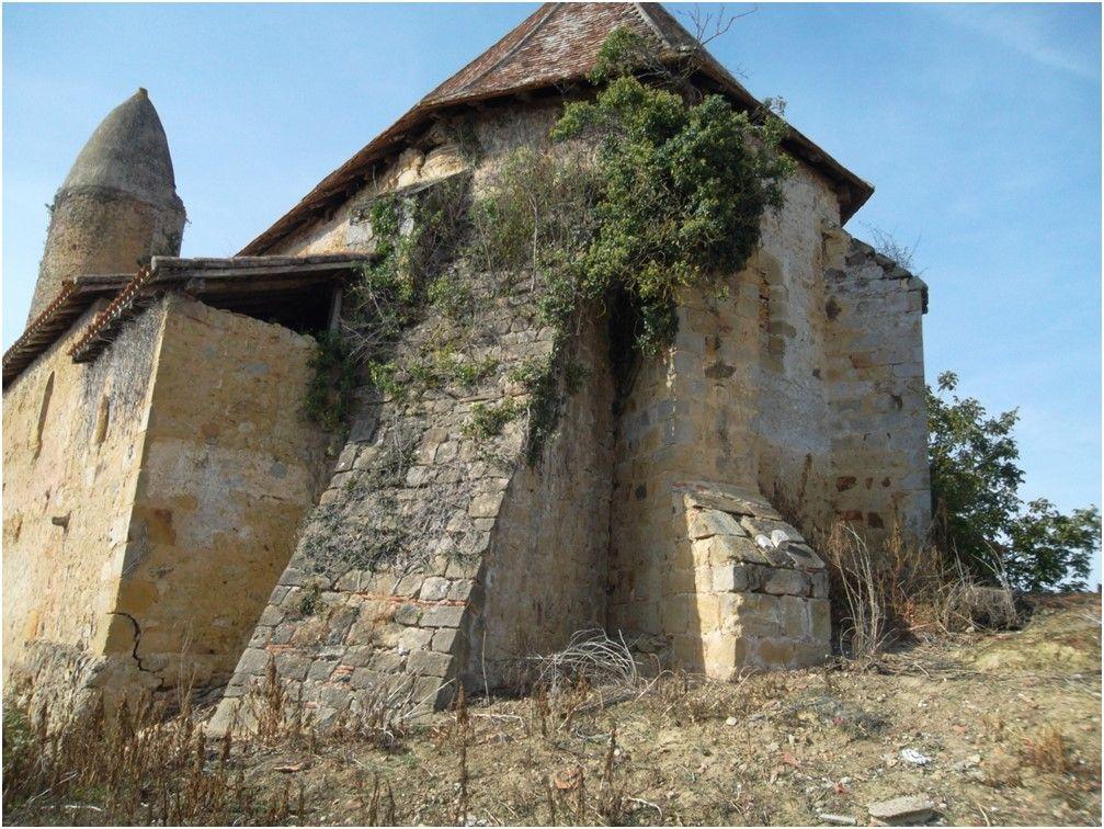 Église de Mauriet à Saint-Martin d'Armagnac dans le Gers