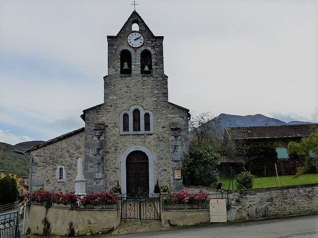 Église d'Arbon en Haute-Garonne