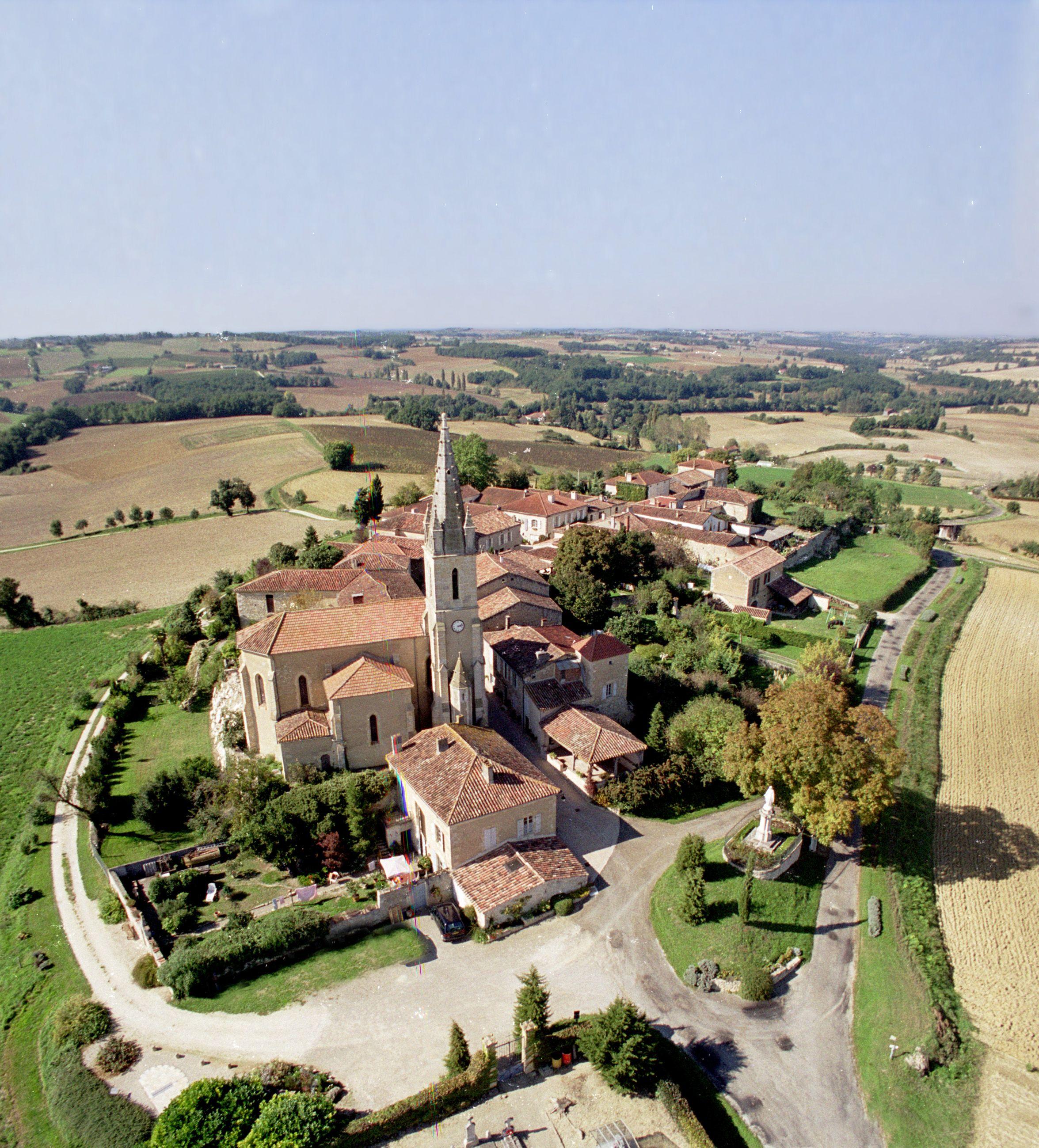 Église Saint-Blaise de Blaziert dans le Gers