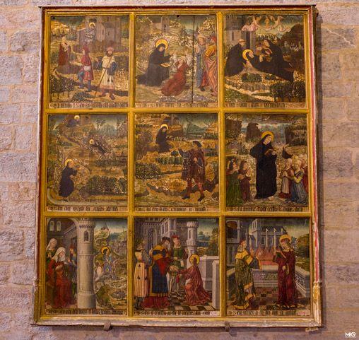 Tableau de la vie de Saint-Savin