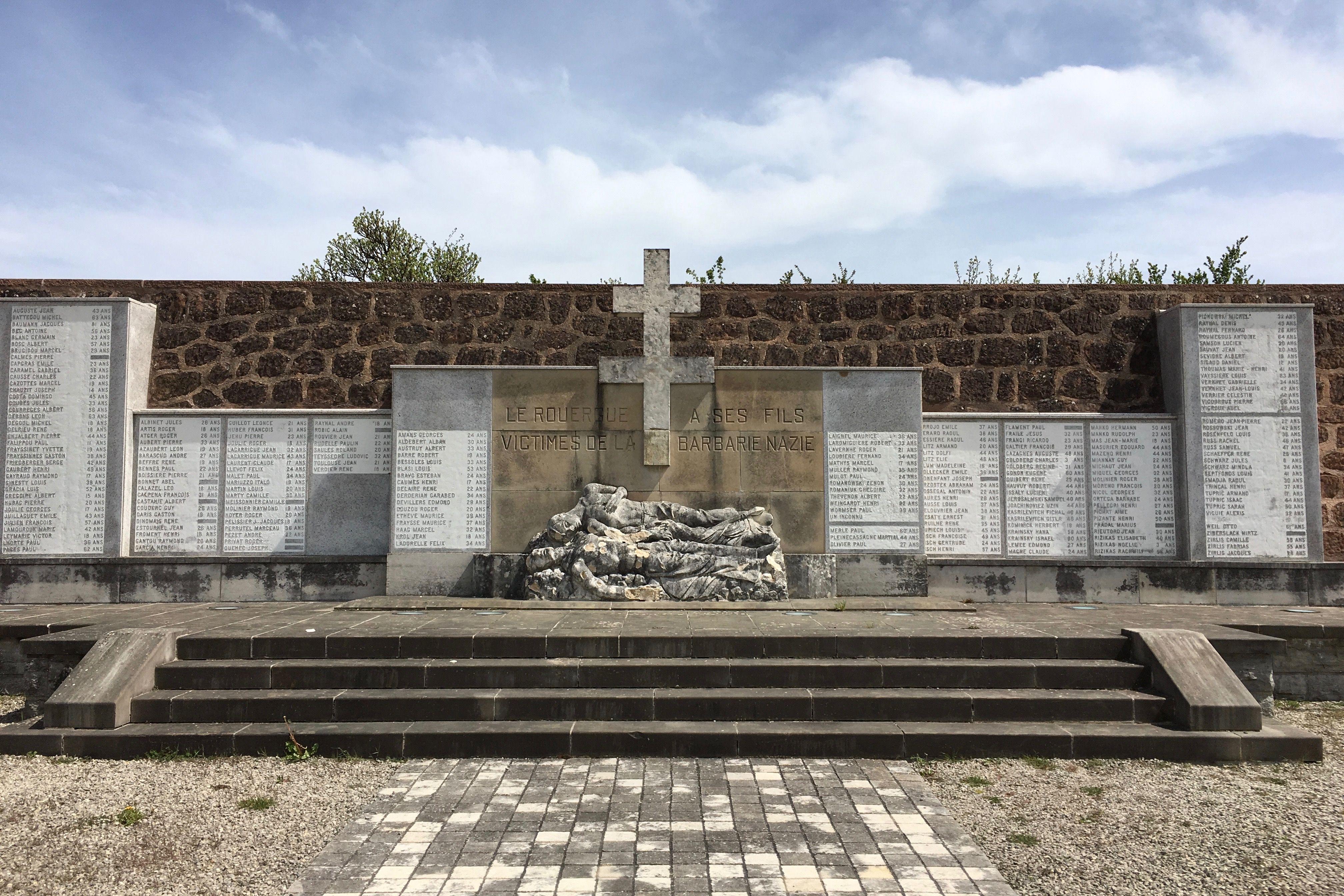 Mémorial de Sainte-Radegonde en Aveyron