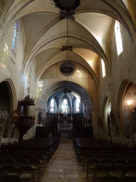 Église Saint-Vincent à Sarrant dans le Gers
