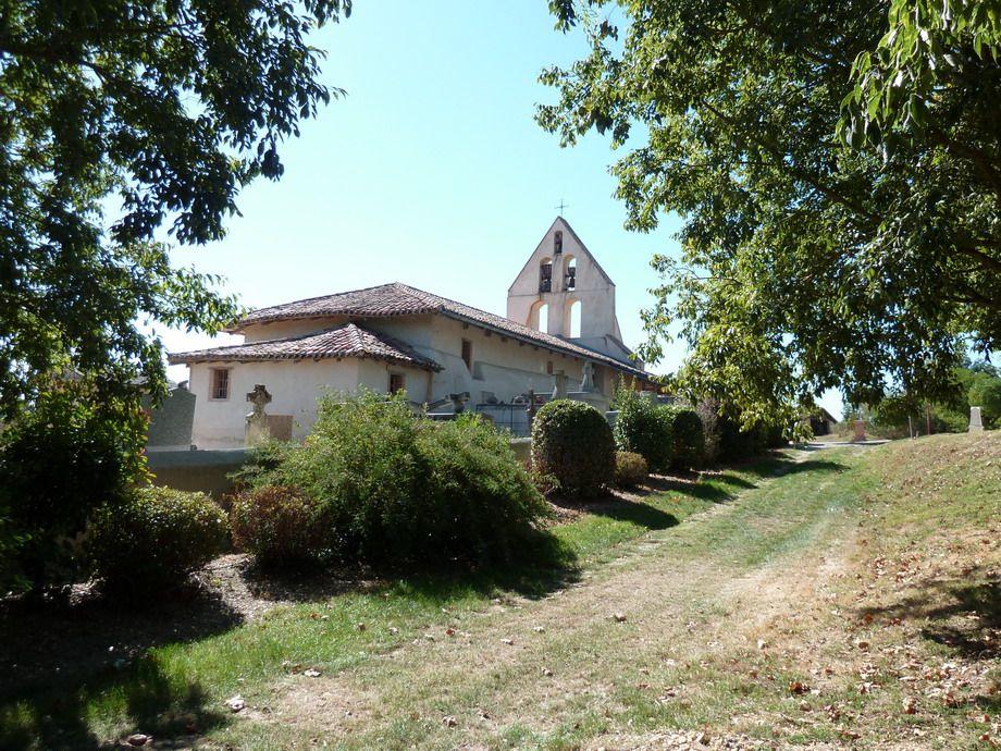Église Saint-Martin à Coutures dans le Tarn-et-Garonne
