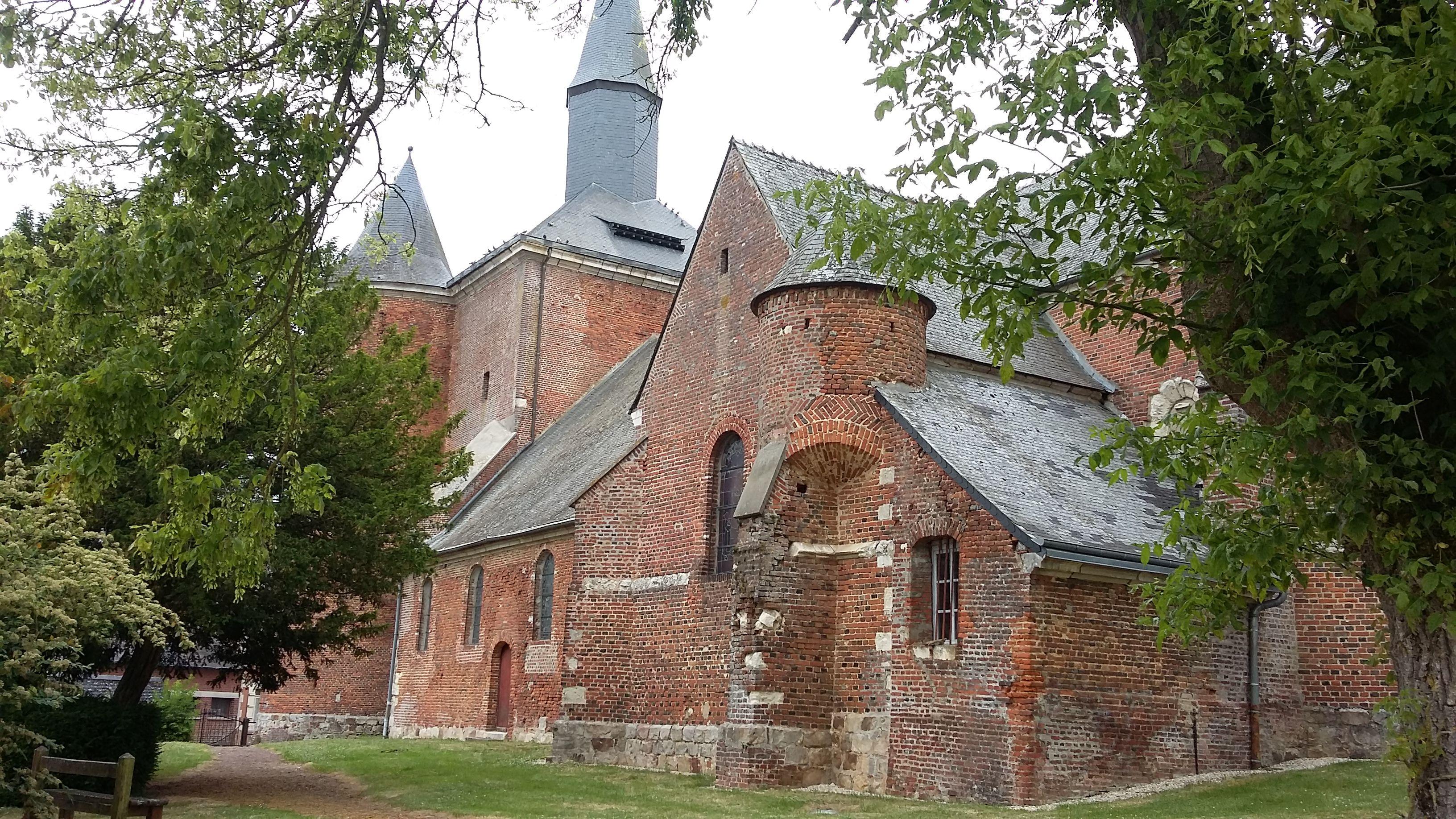 Eglise Notre-Dame de Plomion en Thiérache dans l'Aisne