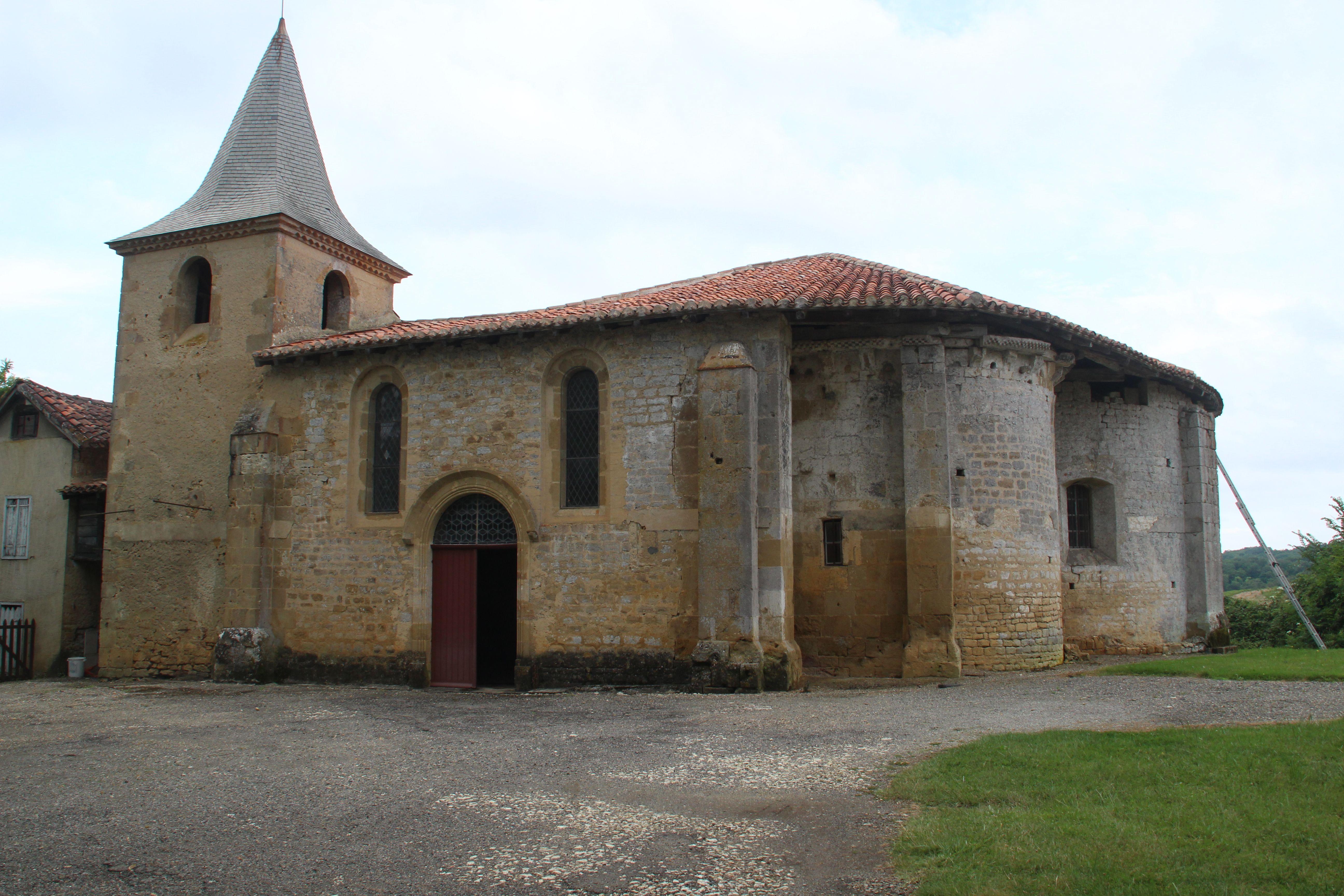 Église Saint-Ausit de Croute à Lasserade