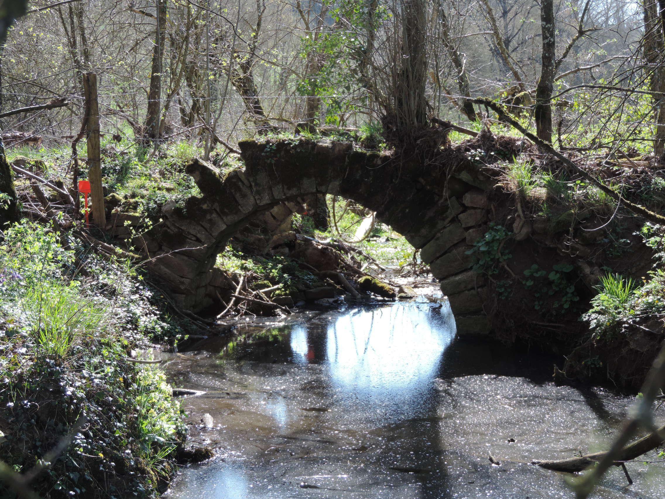 Ponts de Saplous à Buzeins en Aveyron