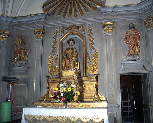 St Morillon vierge nattée