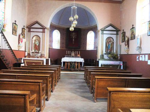Boiseries et mobilier église Saint Cyr-le-Châtoux