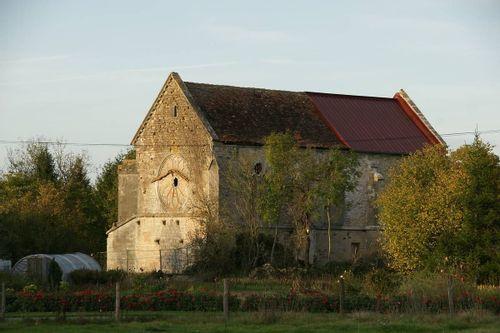 Chapelle templière de Libdeau à Toul