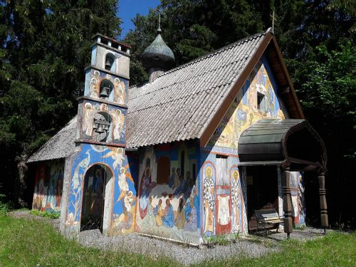 Chapelle Russe de Darbon à Publier