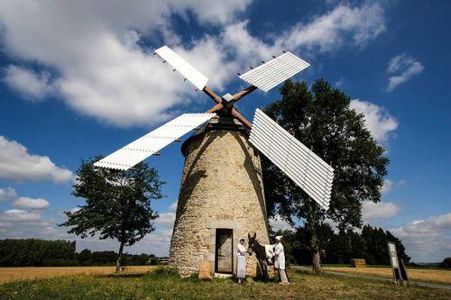 Remise en marche du Moulin Baron en Vendée