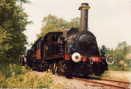 Locomotive à vapeur de Vigy