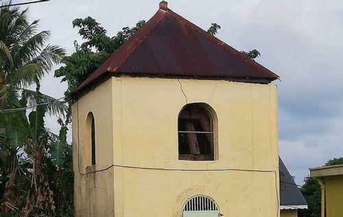 Clocher de l'église Notre-Dame de Bon-Port