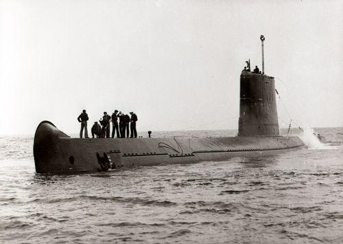 Le sous-marin Espadon