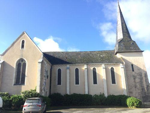 L'église de Saint-Sulpice à La Roche-Neuville