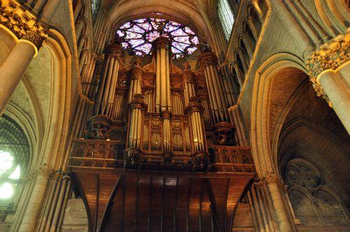 Orgue de la cathédrale de Reims
