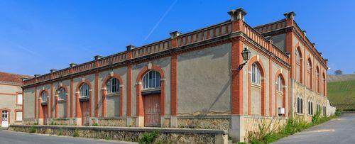 Pressoir Pommery à Ay dans la Marne