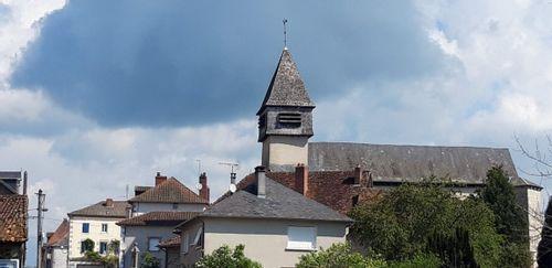 Clocher de l'église communale