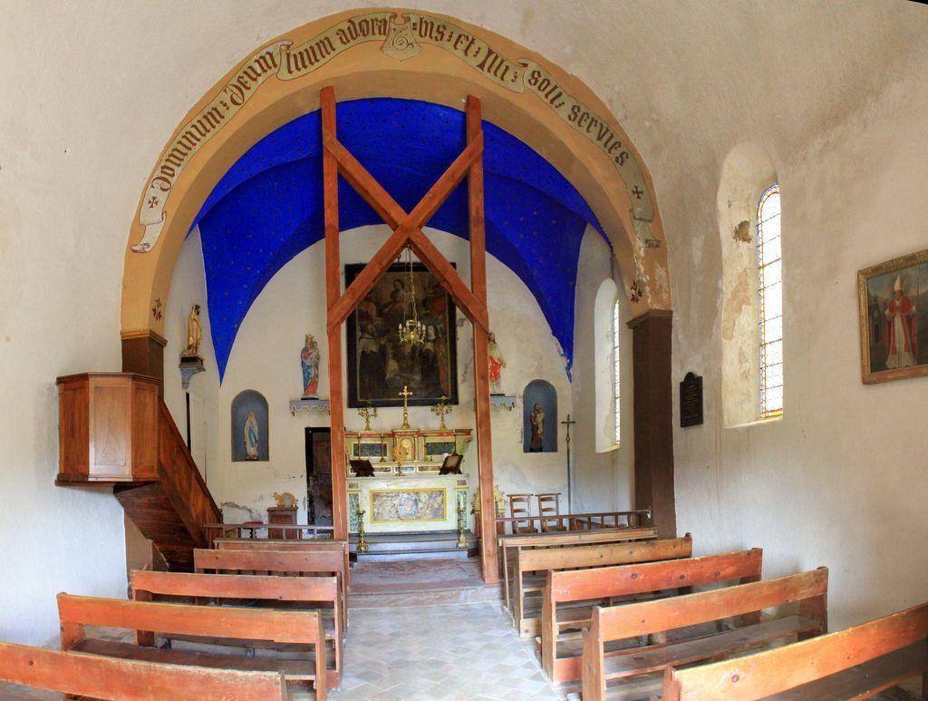 Église Saint-Maxime à Châteauredon